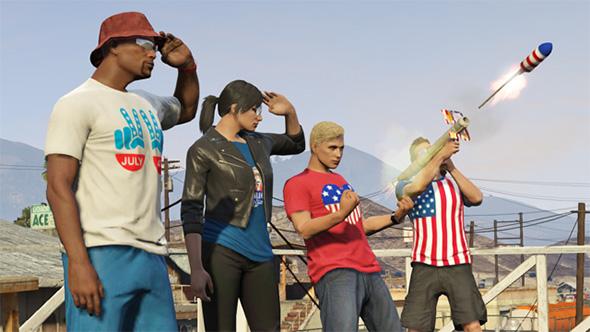 GTA V USA Update