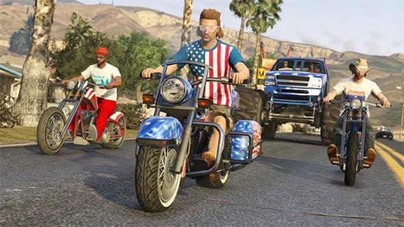 GTA USA Motorocycle