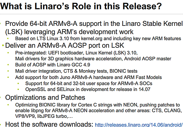 ARM Launches Juno Reference Platform For 64-bit Android