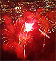 Drone And GoPro Hero 3 Take To The Sky For Fireworks Show And It's Pretty Cool