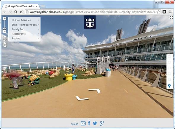 Google Street View Cruise