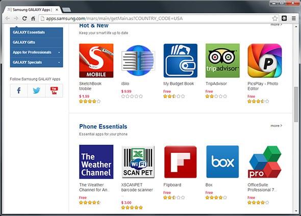 Galaxy App Store