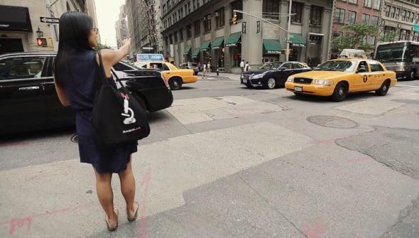 Lyft rideshare NYC