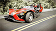 Polaris Slingshot: Not Your Little Brother's Tricycle, A Mean Three Wheeled Machine