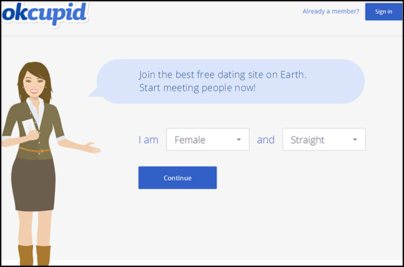 Free dating sites like okcupid
