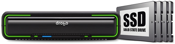 Drobo Mini with SSD