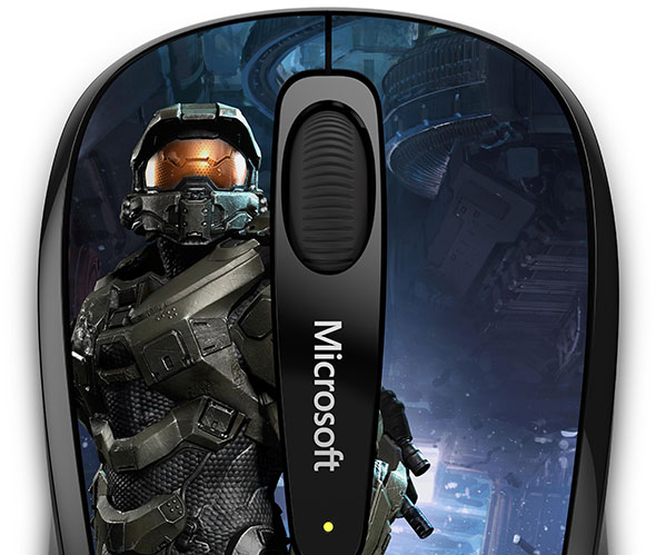 Microsoft is putting its beloved Master Chief on a mouse for PC.