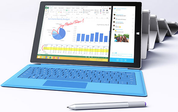 Microsoft is broadening its Surface Pro 3 line with additional processors from Intel.