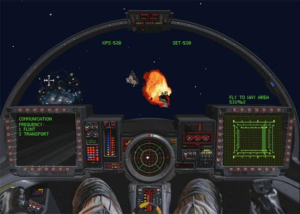 Wing Commander 3 Cockpit