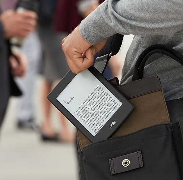 The Amazon Kindle was used in a study that purported to show better reading comprehension in paperbacks