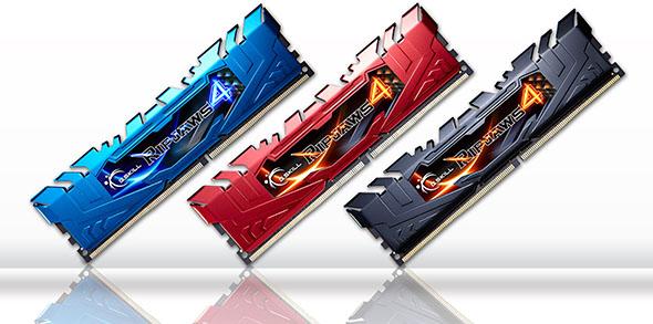 G.Skill Ripjaw DDR4 Variants