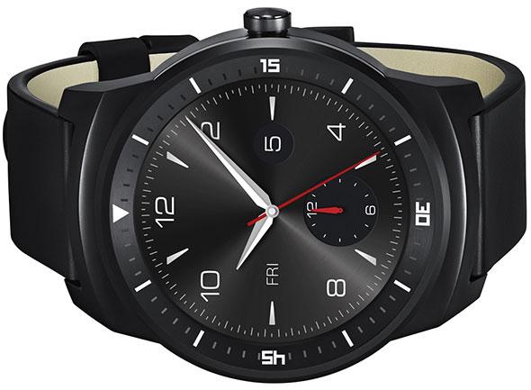 LG G Watch R Sideways