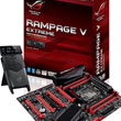 ASUS ROG Rampage V Extreme Motherboard Motors Into Town On X99, Is Ready To Drive Haswell-E