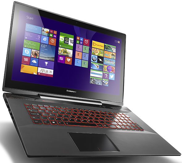 Lenovo Y70 Touch laptop for gamers