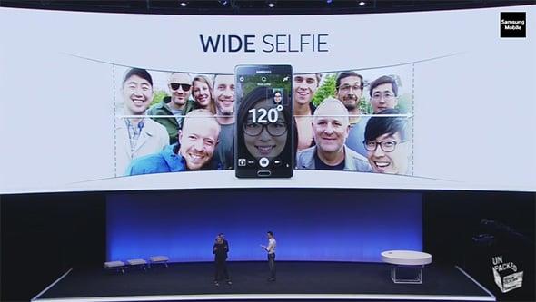 Note 4 Group Selfie