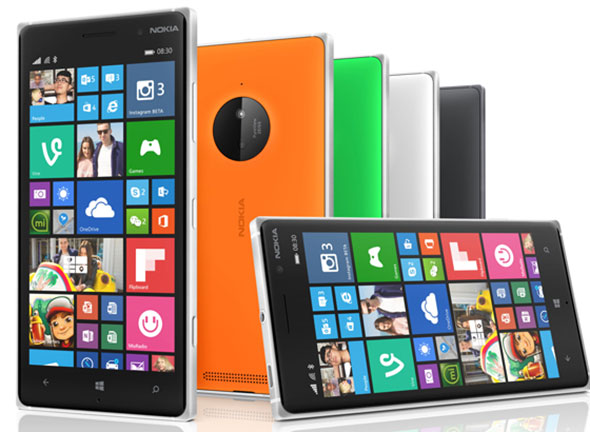 The Microsoft Nokia Lumia 830 with ZEISS optics, image stabilization and wireless battery charing.