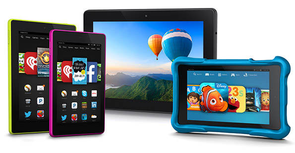 Amazon Fire Tablet Line-Up