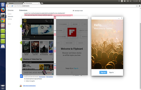 Android on Ubuntu