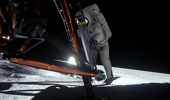 NVIDIA Apollo Mission Recreation - Bright Light