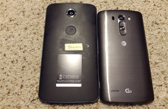 Motorola Shamu and LG G3
