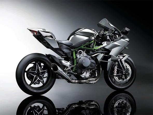 Kawasaki Ninja H2r Right Side