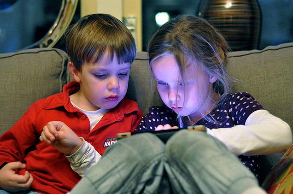 Kids on the iPad