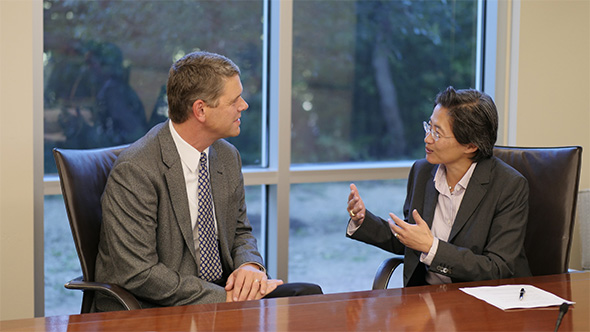 Rory Read and Dr. Lisa Su