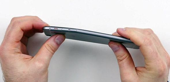 Bent iPhone