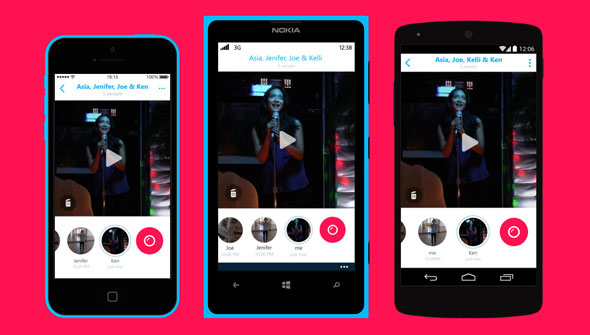 Microsoft Skype Qik is taking on Snapchat and other short video message services
