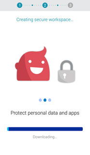 Knox is Samsung's security plaform for mobile devices.