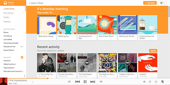 Google Amps-Up Google Play Music With Curated Stations For