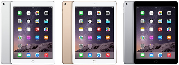 iPad Air 2 Colors