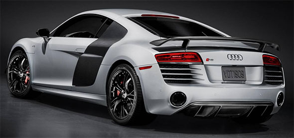 Audi R8 Competition Rear