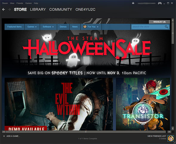 Steam Halloween Sale Steam Halloween Sale Goes Live, Save Big On More Than Just Spooky Games