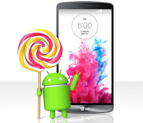 LG G3 Lollipop