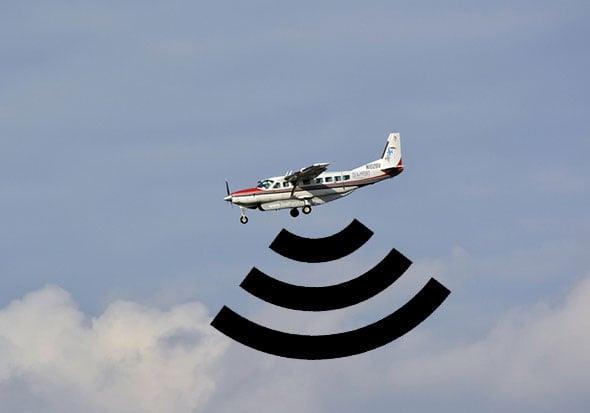 Plane Wi-Fi Signal