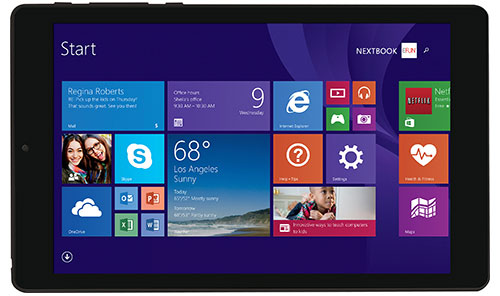 E FUN Nextbook 8 Windows