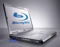 Dell Offers Blu-Ray in Notebooks