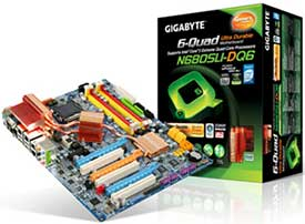 GIGABYTE Launches Quad SLI-Ready GA-N680SLI-DQ6