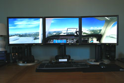 Flight Simulator X - Triple Monitor Lovin'