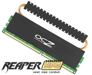 OCZ Technology Unveils PC2-9200 Reaper HPC Series