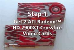 CoolIT / ATI Radeon HD 2900 XT Overclock Video