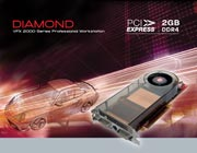 Diamond's 2GB VFX 2000 Series Pro Graphics Card
