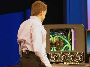 Intel Skulltrail Supports SLI - Sort Of