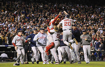 Boston Red Sox Sweep, World Series Champs!