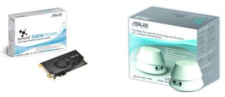ASUS Xonar PCI Express and Xonar U1