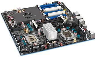 Intel Skulltrail Motherboard Sneak Peek