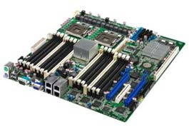 ASUS Launches Dual-Processor Server Motherboards