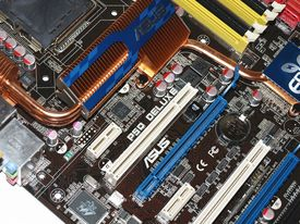 Asus P5Q Deluxe - P45 Chipset with DDR2 | HotHardware