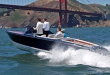 Hybrid Boat Waves Hello to S.F. Bay